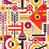 Art Pattern moderno inconsútil abstracto para el diseño de la cubierta ilustración del vector