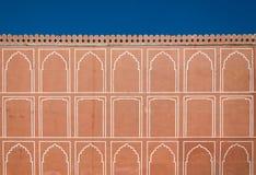 Art pattern on wall at City Palace, Jaipur Royalty Free Stock Photo