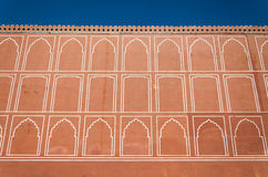 Art pattern wall at City Palace, Jaipur Stock Photography