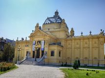 Art Pavilion Umjetnicki Paviljon Zagreb Editorial Stock Photo Image Of Grass Landmark 135606283