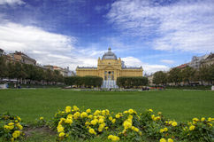 The Art Pavilion in Zagreb Royalty Free Stock Photos