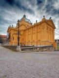 Art pavilion in Zagreb Stock Photography