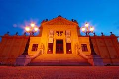 Art Pavilion, Zagreb, Croácia Foto de Stock Royalty Free