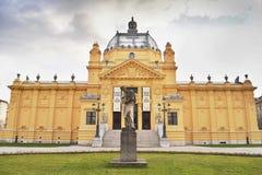 Art pavilion, Zagreb, Croatia Stock Photography