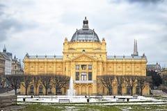 Art pavilion, Zagreb, Croatia Royalty Free Stock Photos