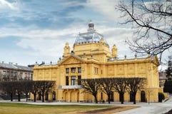 Art pavilion, Zagreb, Croatia Royalty Free Stock Image