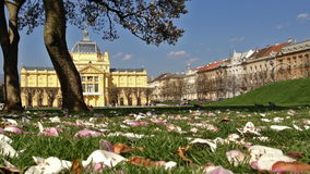 Art Pavilion in Zagreb, Croatia Royalty Free Stock Photos
