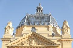 Art Pavilion in Zagreb Stock Images
