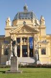 Art Pavilion in Zagreb Stock Photos