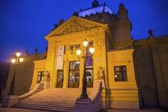 Art Pavilion, Zagreb, Kroatië stock afbeelding