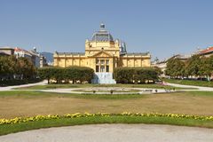 Art pavillion in Zagreb. Croatia Royalty Free Stock Image
