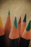 Art Pencils retro Imagens de Stock Royalty Free