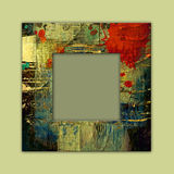 Art photo frame background Stock Photos