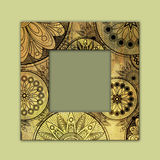 Art photo frame colorful background Royalty Free Stock Images