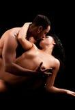 Art photo of nude sexy couple Stock Photo