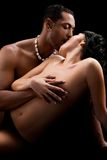 Art photo of nude sexy couple Royalty Free Stock Photography