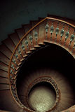 Art picture of wooden stairs Stock Photos