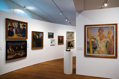 Art pictures in  San Telmo Museum in San Sebastian Stock Photo