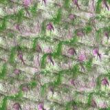 Art Pink, gota verde de la pintura de la tinta de la acuarela Fotografía de archivo libre de regalías