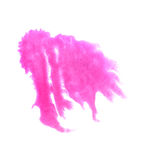Art The pink watercolor ink paint blob watercolour Stock Photo