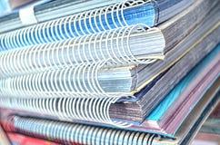 Art portfolio books Stock Image