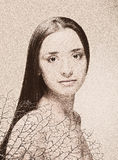 Art portrait Stock Photo