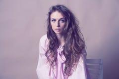 Art portrait of beautiful woman Stock Photography