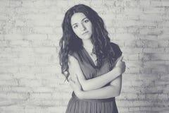 Art portrait of beautiful woman Stock Photo
