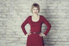 Art portrait of beautiful woman Stock Image