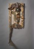 Art Portrait reciclado de un mendigo Fotografía de archivo libre de regalías