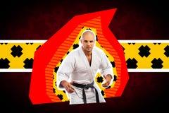 Art portrait sport man royalty free stock photo