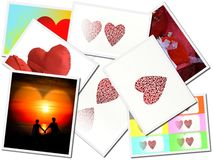 Art postcard Royalty Free Stock Photography