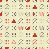 Art Poster moderne abstrait et fond géométrique Images stock