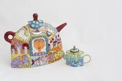 Art Pots heureux Images stock