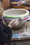 Art of the potter Stock Images