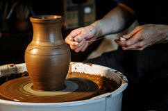 The art of pottery Stock Photos