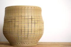 Art of pottery Stock Images