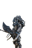 The Art Predator is made from scrap steel Royalty Free Stock Image