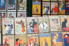 Art Prints For Sale in Montmartre, Paris, France Royalty Free Stock Photo