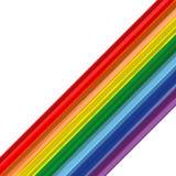 Art rainbow abstract stroke vector background Royalty Free Stock Photos