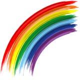 Art rainbow abstract vector background Stock Photography