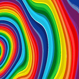 Art rainbow abstract vector background 8 Stock Photography
