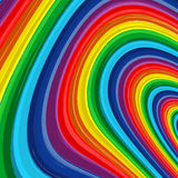 Art rainbow abstract vector background 9 Royalty Free Stock Photography