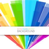 Art rainbow abstract vector background Royalty Free Stock Photo
