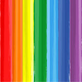 Art rainbow color paint splash vector background Stock Photos