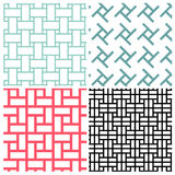 Art of rectangle patterns Royalty Free Stock Photo