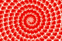 Art red color spiral abstract pattern background Royalty Free Stock Images