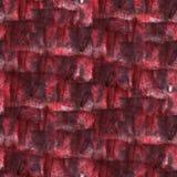 Art Red, de vlek van de de inktverf van de Bordeauxwaterverf Royalty-vrije Stock Fotografie