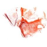 Art Red, lilac de verfvlek van de waterverfinkt Stock Foto's