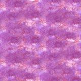 Art Red, violette de verfvlek van de waterverfinkt Stock Foto